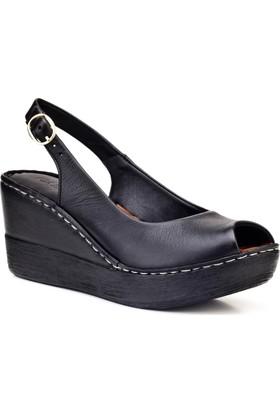 Cabani Günlük Kadın Sandalet Siyah