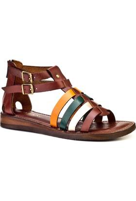 Cabani Günlük Kadın Sandalet Renkli