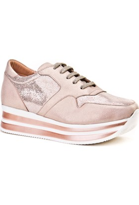 Cabani Bağcıklı Sneaker Kadın Ayakkabı Pembe
