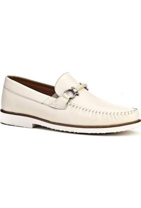 Cabani Light Taban Günlük Erkek Ayakkabı Bej Napa Deri
