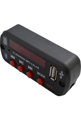 Araç Teyp İçin USB AUX-İN Bluetooth Adaptörü Çevirici
