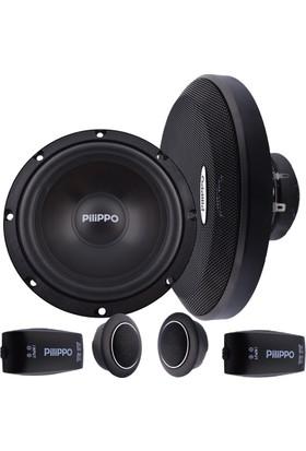 Pilippo PO-603 16 cm 200 W Mid Oto Hoparlör