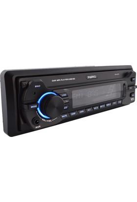 Pilippo PO-600 USB SD Radyo Kumandalı Oto Teyp