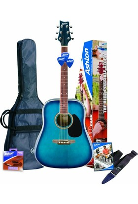 Ashton SPD25TBB Akustik Gitar Paketi