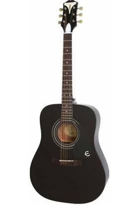 Epiphone Pro-1 Akustik Gitar Ebony