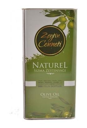 Zeytin Cenneti Naturel Sızma Zeytinyağı 5 lt Teneke