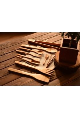 Bambum Violi - 10 Parça Mutfak Seti