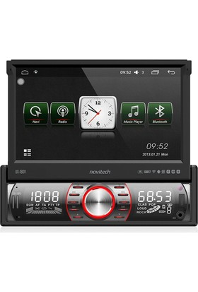 Navitech UX-180V Android İndash Navigasyon USB Oto Teyp Bluetooth