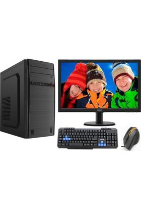 Gamyx GMX058 Intel Core i3 530 8GB 500GB R7 240 Freedos 18.5 LED WİDE Masaüstü Bilgisayar