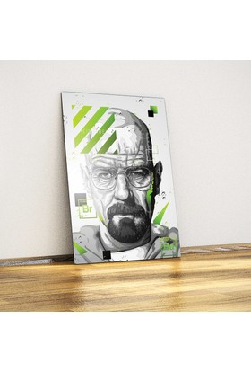 Javvuz Walter White - Breaking Bad - Metal Poster