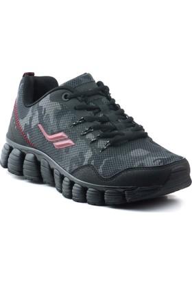Lescon L-5511 Siyah Erkek Stream Spor Ayakkabı