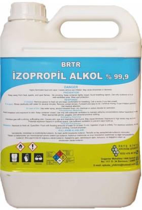 Brtr Kimya İzopropil Alkol (İpa ) %99,9 Temizlik Solventi 5 Lt