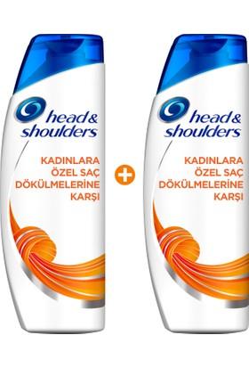 Head & Shoulders Şampuan Kadınlara Özel Saç Dökülmelerine Karşı 2 x 500 ml