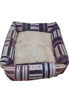 Mrs.Pillow Meta 4 Desenli Kedi Ve Köpek Yatakları 45X45Cm