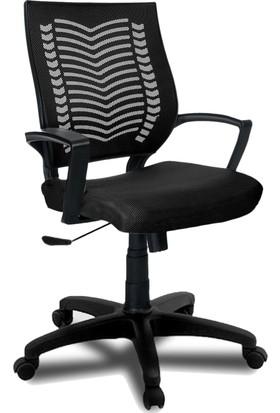 YMV Ofis Sandalyesi, Çalışma ve Bilgisayar Sandalyesi , Siyah