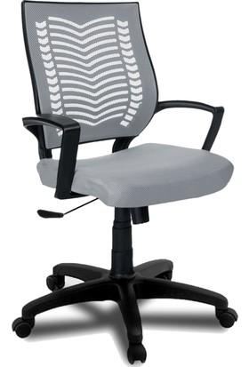 YMV Ofis Sandalyesi, Çalışma ve Bilgisayar Sandalyesi , Gri