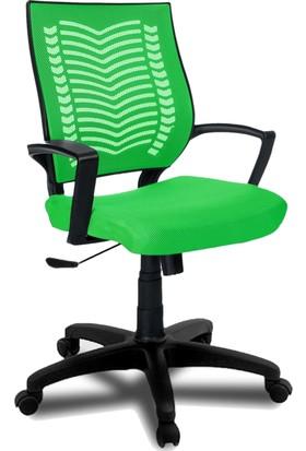 YMV Ofis Koltuğu, Ofis Sandalyesi, Show Çalışma ve Bilgisayar Sandalyesi , Yeşil