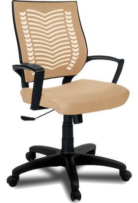 YMV Ofis Sandalyesi, Çalışma ve Bilgisayar Sandalyesi , Krem