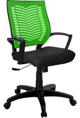 YMV Ofis Sandalyesi, Çalışma ve Bilgisayar Sandalyesi , Yeşil sırt
