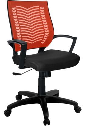 YMV Ofis Koltuğu, Ofis Sandalyesi, Show Çalışma ve Bilgisayar Sandalyesi , Turuncu Sırt