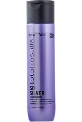 Matrix Total Results Color Obsessed So Silver Mor Tonlama Şampuan 300 ml