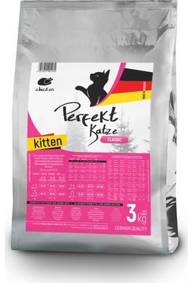 Perfekt Katze Kitten Chicken, Tavuklu Yavru Kedi Maması 3 Kg