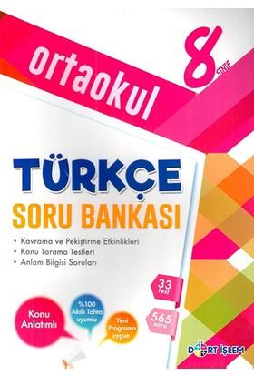 Dört İşlem 8. Sınıf Türkçe Konu Anlatımlı Soru Bankası
