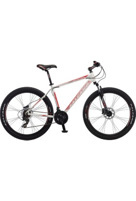 Salcano Ng 650 27.5 Jant Md Bisiklet 16 inç Kadro, Beyaz - Kırmızı