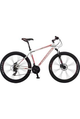 Salcano Ng 650 27.5 Jant Md Bisiklet 18 inç Kadro, Beyaz - Kırmızı Mat