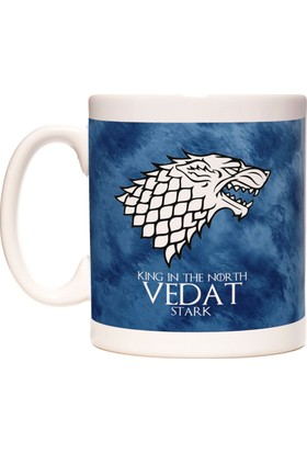 Game Of Thrones Stark İsim Yazılabilir Kupa Bardak
