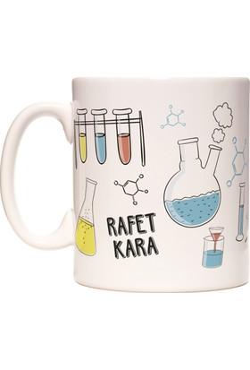 Kimya Öğretmeni Kişiye İsme Özel Meslek Kupa Bardak
