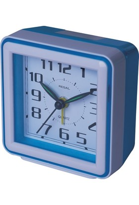Regal AL 213 3 Bip Alarm Şeffaf Kasa Masa Saati