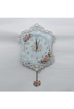 Regal 18865 W El İşi Boyama Antik Saat