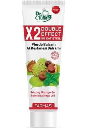 Farmasi Dr. C.Tuna İki Kat Etkili At Kestanesi Masaj Jeli 125 Ml