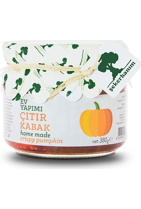 Şeker Hanım Çıtır Kabak Reçeli 380 Gr