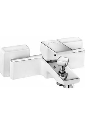 Eca Tıera Banyo Bataryası (Beyaz)