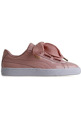 Puma Basket Heart Patent Pembe Kadın Sneaker
