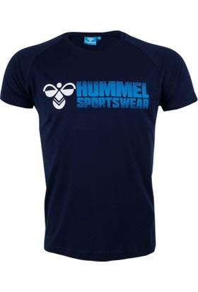 Hummel Lacivert Erkek T-Shirt Sinel Ss Tee T09833-7480
