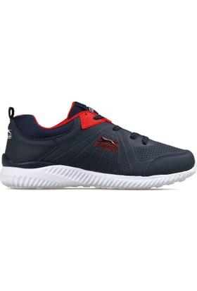 Slazenger Lacivert Erkek Ayakkabısı Info Navy Red SA18LE049-407