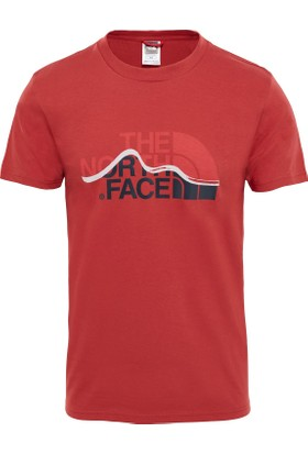 The North Face Kırmızı Erkek T-Shirt T0A3G2ZBN