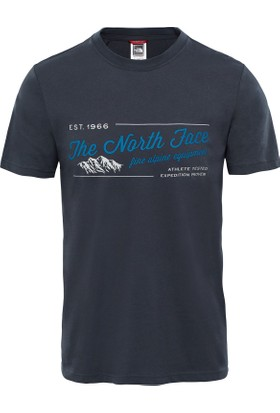 The North Face Lacivert Erkek T-Shirt T93BPK0C5