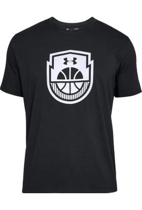 Under Armour Siyah Erkek Basketbol T-Shirt 1305711-001