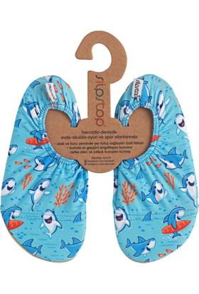 Slipstop Mavi Çocuk Deniz & Havuz Ayakkabısı SS18120168