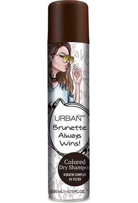 Urban Care Kuru Şampuan Kahverengi Saçlar İçin 200Ml
