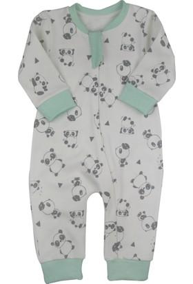 Baby Corner Fermuarlı Tulum Panda
