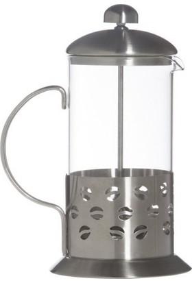İkbalHome French Press 600 Ml Bitki Çayı Filtre Kahve Demliği