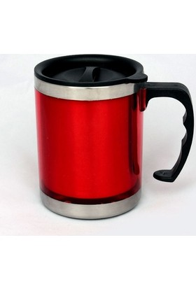 İkbalHome Pratik Termos Kupa Bardak Kırmızı