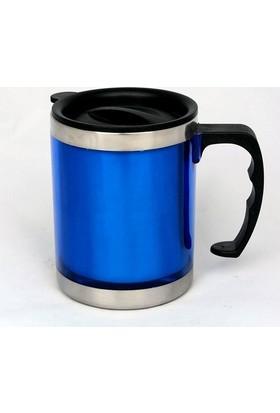 İkbalHome Pratik Termos Kupa Bardak Mavi