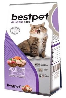 Bestpet Mix Karışık Etli Yetişkin Kedi Maması
