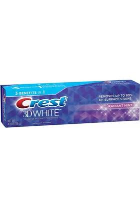 Crest 3D White Radiant Mint Diş Macunu 136GR